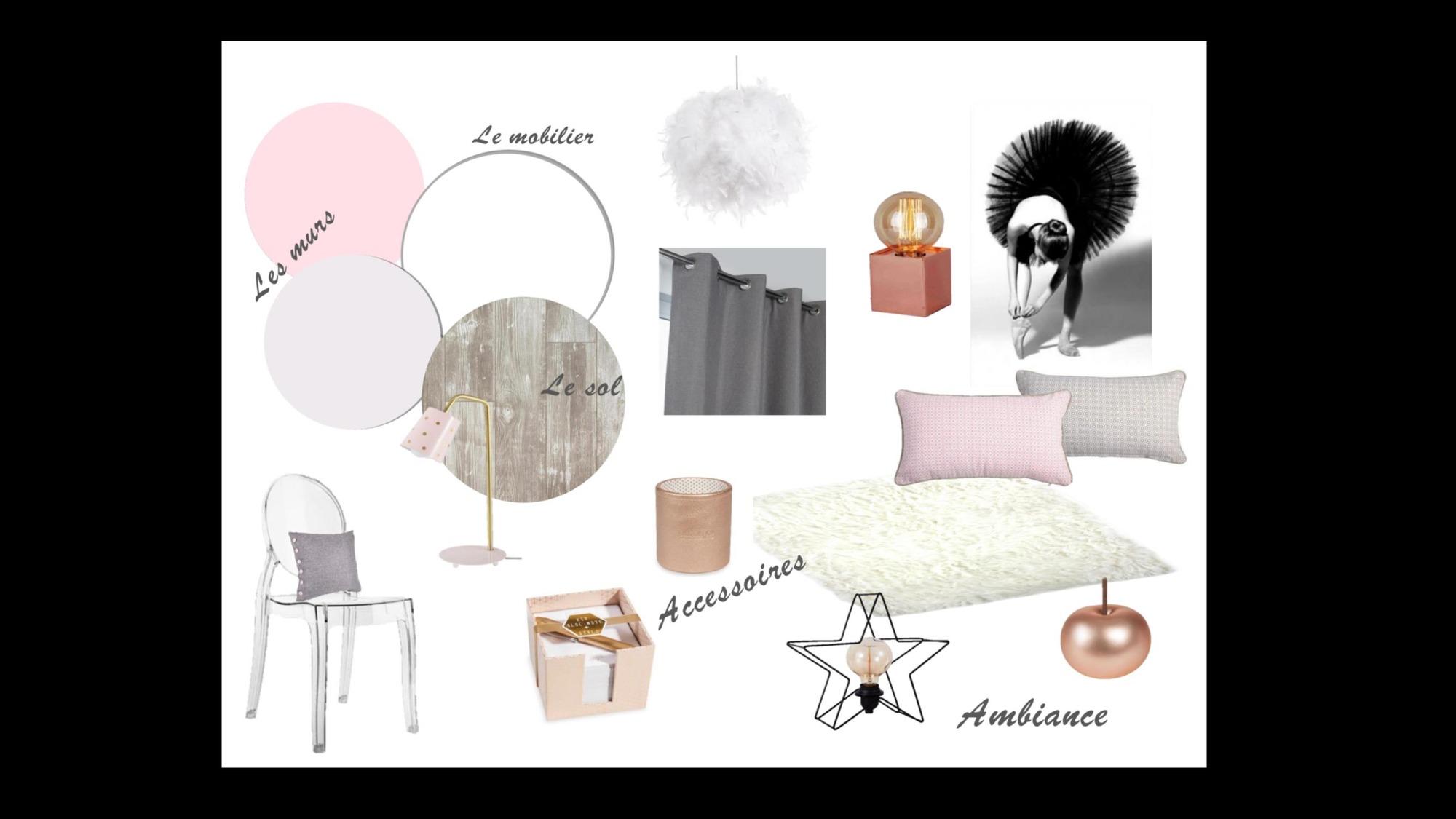 chambre fille danse classique ma d co de f e d coratrice d 39 int rieur. Black Bedroom Furniture Sets. Home Design Ideas